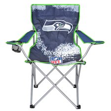 NFL Kids Camping Chair with Cup Holder by Idea Nuova