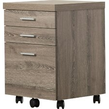 Canipe 3-Drawer Mobile Lateral File