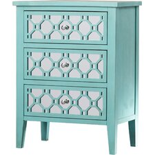 Mae 3 Drawer Chest by House of Hampton