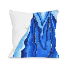Bold Formations Fleece Throw Pillow
