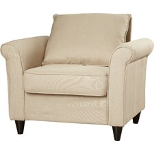 Sheila Roll Armchair by Andover Mills