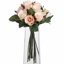 Alouette Bunch Of Peach Roses Floral Arrangements
