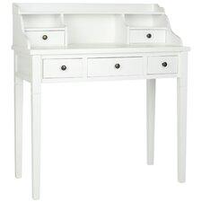 burr secretary desk - White Desk