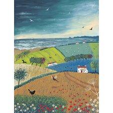 Sea Breeze Art Print on Canvas