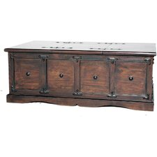 Kishmore Box Trunk Coffee Table  by World Menagerie