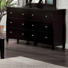 Warwick 6 Drawer Dresser