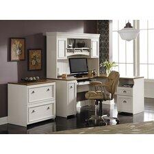 Oakridge 3 Piece L-Shape Desk Office Suite