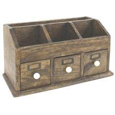 Solid Wood Desk Organiser / Letter Rack