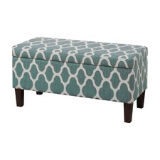 Clare Tokatli Upholstered Storage Bench