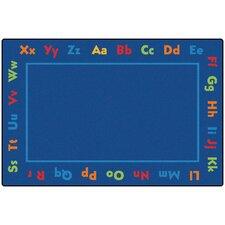 Value Plus Alphabet Area Rug