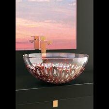 Laguna Murano Circular Vessel Bathroom Sink by Maestro Bath