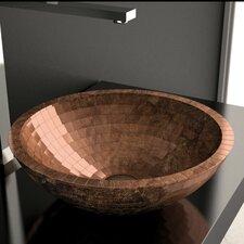 Circular Vessel Bathroom Sink by Maestro Bath