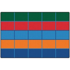 Value Plus Color Blocks Area Rug