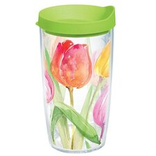 Garden Party Tea for Tulips Tumbler with Lid