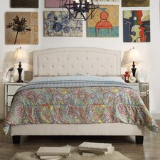 Gabriel Upholstered Panel Bed by Mulhouse Furniture