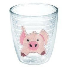 Totally Kids Pig Front and Back Tumbler
