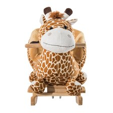 Giraffe Plush Rocking Horse