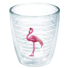 Sun and Surf Flamingo Tumbler