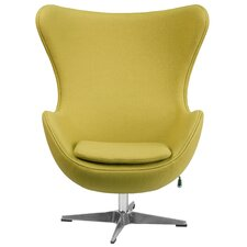 Egg Lounge Chair by Flash Furniture