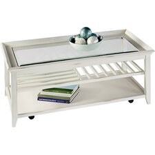 Maidstone Coffee Table with Tray Top by Breakwater Bay