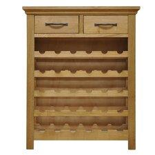 Naramata 30 Bottle Tabletop Wine Cabinet