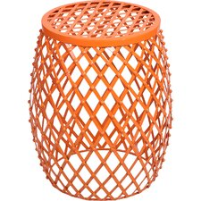 Cevallos Home Garden Accent Wire Round Stool