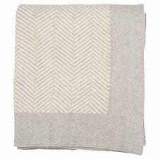 Herringbone 100% Cotton Throw