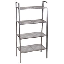 Free-Standing 46.5 H Four Shelf Etagere by Household Essentials