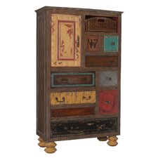 Birute Mosaic 9 Drawer Treasure Accent Chest by Bungalow Rose
