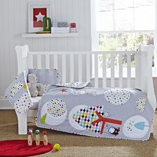 The Dudes 2-Piece Cot Bedding Set