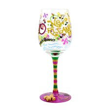 New Orleans Wine Glass