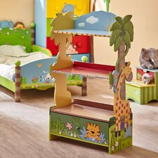 "Sunny Safari 38"" Bookshelf"
