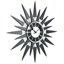 "20"" Modern Starbust Eyelash Clock"