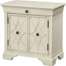 Delilah 1 Drawer and 2 Door Cabinet by Trisha Yearwood Home Collection