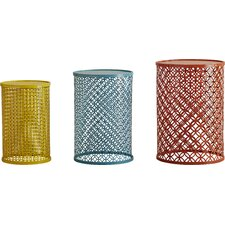 Ishtar 3 Piece Nesting Table Set by Mercury Row®