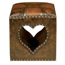 Oria Heart Footstool