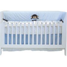 Darla Monkey 10 Piece Crib Bedding Set