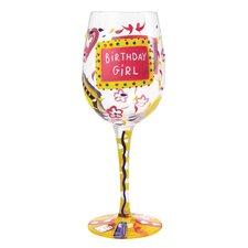 Birthday Girl All Purpose Wine Glass