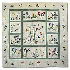 Wildflower Cotton Shower Curtain