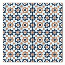 """Ahfir Handmade Floor and Wall 8"""" x 8"""" Cement Tile"""