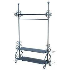 185cm H x 108cm W x 44cm D Valet Stand
