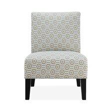 Kimberly Slipper Chair in Stone by Zipcode Design