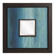 Apolonio Painted Canvas Wall Mirror