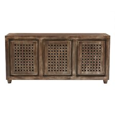 Prisha 3 Door Accent Cabinet by World Menagerie