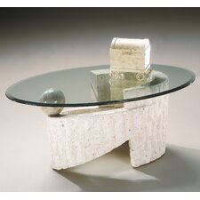 Ponte Vedra Oval Coffee Table by Magnussen Furniture