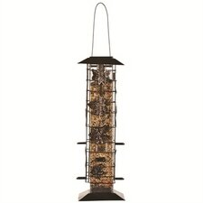 Birdscapes Be Gone Caged Tube Bird Feeder