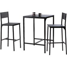 Hall 3 Piece Bar Table Set