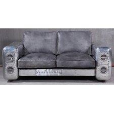 2-Sitzer Einzelsofa Gripe aus Leder