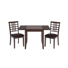 Dinette Table with Tile Top and Drop Leaves