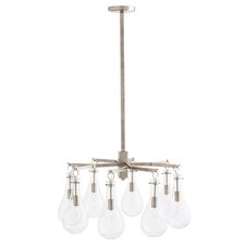 Sabine 8-Light Semi Flush Mount